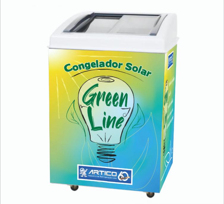 CONGELADOR SOLAR 12V – 120 LITROS
