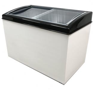Congelador horizontal 400 litros. Freezer expositor.