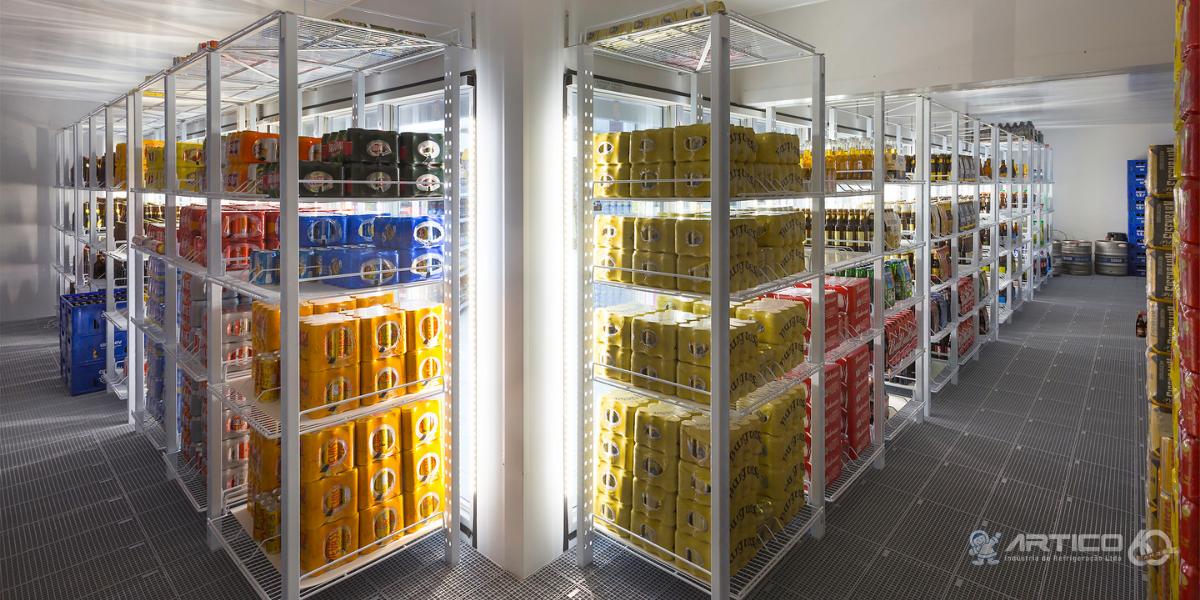 Câmara frigorífica walk-in