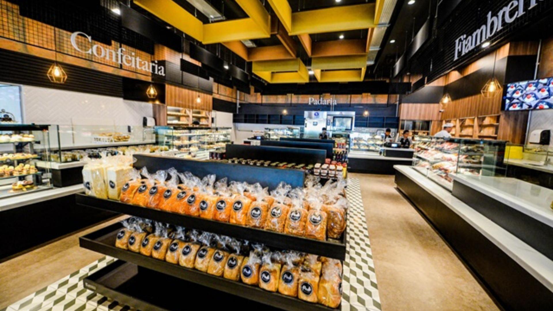 Projetos Personalizados para Padarias e Supermercados Buffet de Alimentos