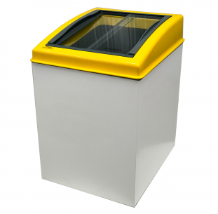 Congelador horizontal 120 litros. Freezer expositor.